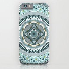 Blue Mandala iPhone 6s Slim Case