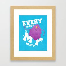 Every Party Is A LSP Party Framed Art Print