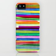 Colorful Stripes 1 iPhone (5, 5s) Slim Case