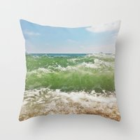 Salty ~ Throw Pillow