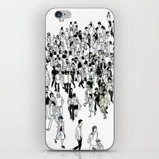Shibuya Street Crossing Crowd iPhone & iPod Skin