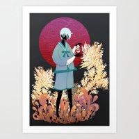 The tale of the Karma Demon Art Print