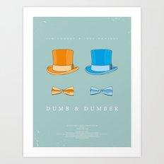 Dress The Part - Dumb & Dumber Art Print