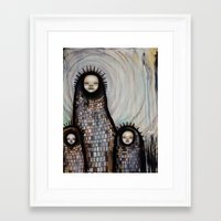 She was a child Framed Art Print