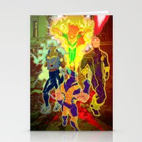 Uncanny X-Men Stationery Cards