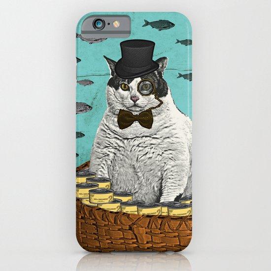 Fat Cat Print iPhone & iPod Case