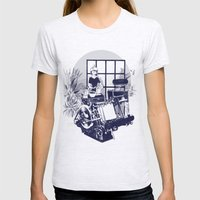 Oranjefontein Womens Fitted Tee Ash Grey SMALL