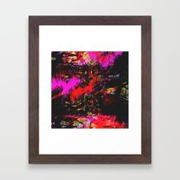 Fuck The Trees Fill Up The Tank Framed Art Print