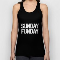 Sunday Funday Dirty Vars… Unisex Tank Top