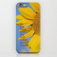 Be Happy. iPhone 6 Slim Case