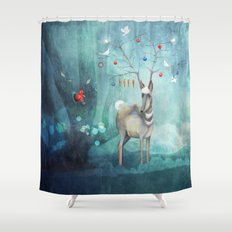Where will you go? Shower Curtain