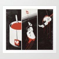 Lust Drop Art Print