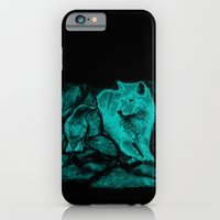 Wolf and Raven in the Night iPhone 6 Slim Case