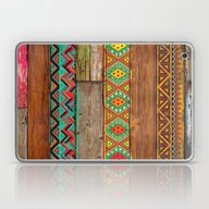Indian Wood Laptop & iPad Skin