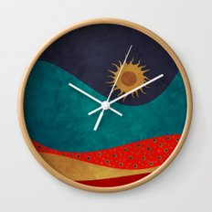 color under the sun Wall Clock