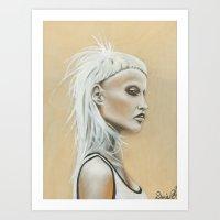 Yolandi Art Print