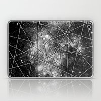 Fly Up to the Heavens (bnw) Laptop & iPad Skin