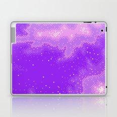Purple Nebula (8bit) Laptop & iPad Skin