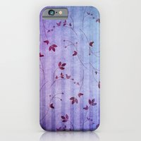 floral pattern iPhone & iPod Cases featuring FLORAL PATTERN by VIAINA