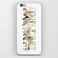 Sailor Disney Princesses iPhone & iPod Skin