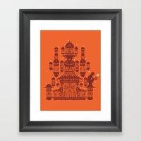 Surprise Gift Framed Art Print