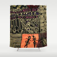 Short Summer Night Shower Curtain