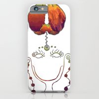 iPhone & iPod Case featuring Brain Activity by Naná Monteiro