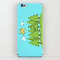 The Pine Forest iPhone & iPod Skin