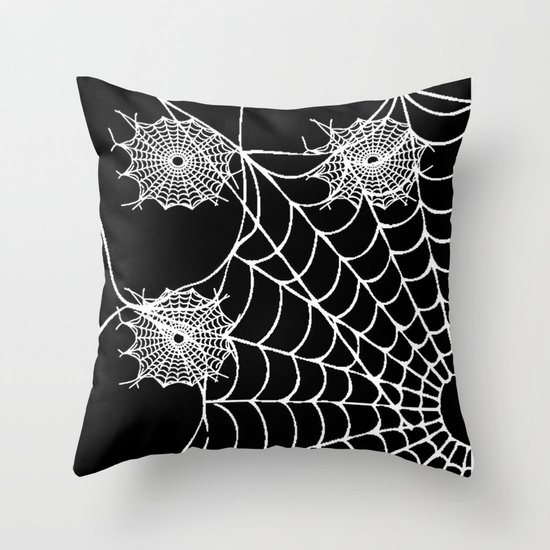 WEB PAGE Throw Pillow