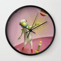 Cosmic balance Wall Clock