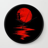 The Land Of The Rising S… Wall Clock