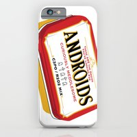 iPhone & iPod Case featuring Androids by TCarver