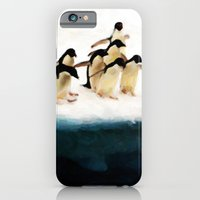 The Penguin Party - Painting Style iPhone 6 Slim Case