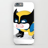 iPhone & iPod Case featuring WOLVERINE ROBOTIC by We are Robotic