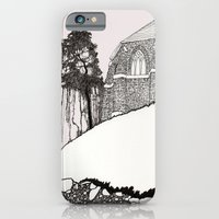 St. Vigeans (black and white) iPhone 6 Slim Case