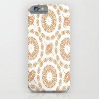 Citrine Mandala Tile iPhone 6 Slim Case