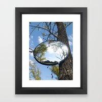 Surveillance Tree #1 Framed Art Print