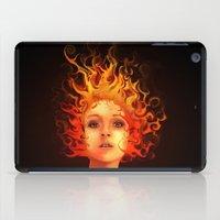 Flame Princess iPad Case