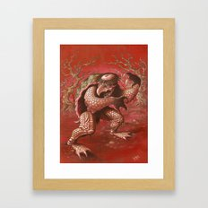 kapa Framed Art Print