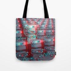 Robot Cinema Tote Bag