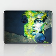Esther Green (Set) by carographic watercolor portrait iPad Case