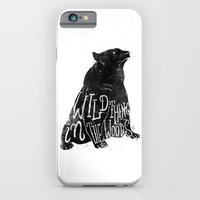 iPhone & iPod Case featuring Wild Thing in the Woods by Mike Koubou