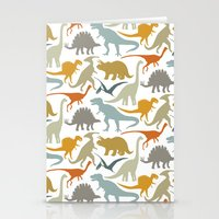 Dinosaur Friends Stationery Cards