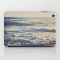 When the Light Turns Gold iPad Case