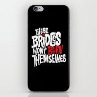 Burning Bridges iPhone & iPod Skin