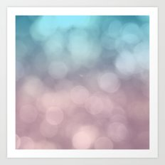 Dreaming of Cotton Candy Art Print