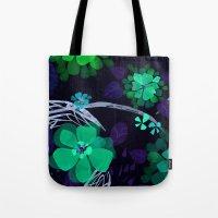 Flora Queen Tote Bag