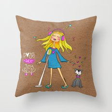 Dogs Are Joy ❤️ Throw Pillow