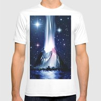 Eruption. Mens Fitted Tee White SMALL