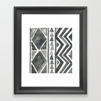 Here Framed Art Print
